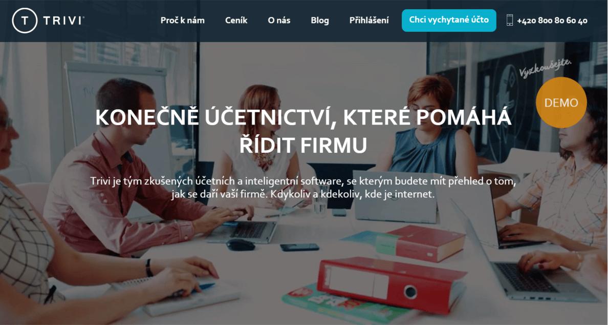 trivi-homepage